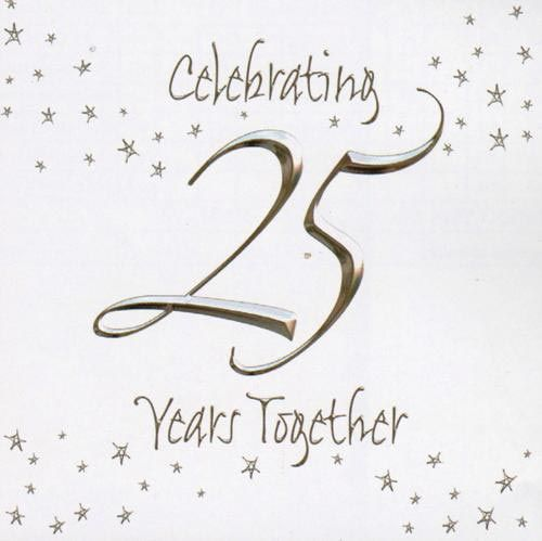 25th Anniversary Invitations 25th Anniversary Invitation pack of - print anniversary card