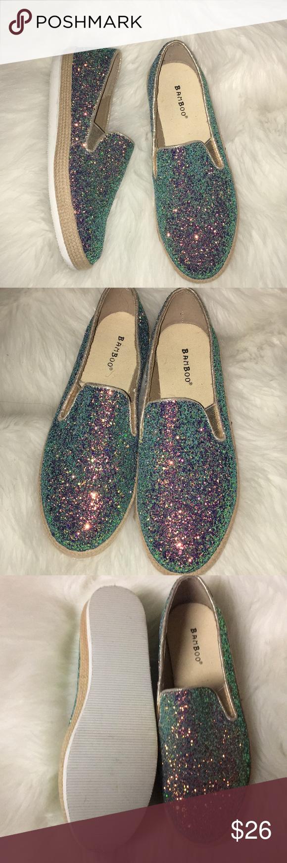 womens glitter sneakers size 11
