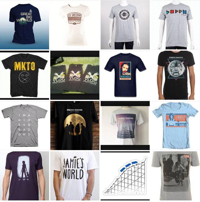 Fandoms tshirts