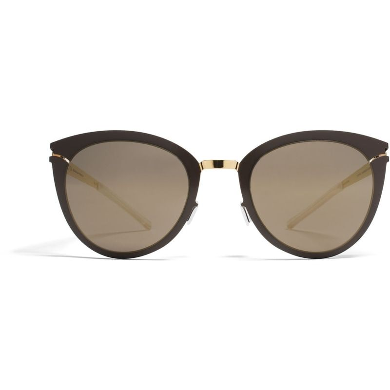 d30f93c6320 Meghan s Mykita  Priscilla  Gold Terra Sunglasses Made of lightweight  stainless steel