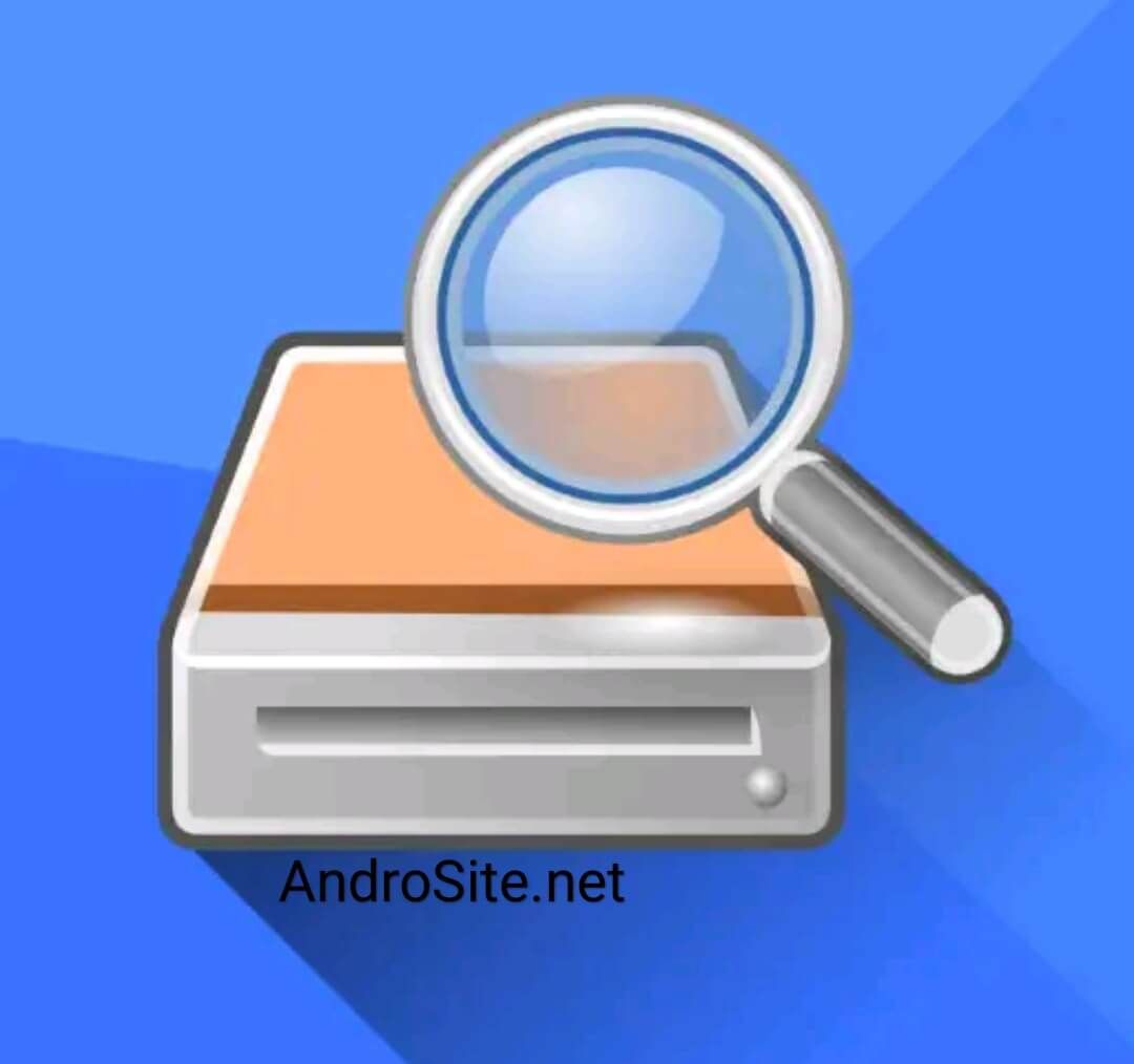 تنزيل برنامج استرجاع الصور والفيديو Diskdigger برابط مباشر Androsite Photo Recovery Software Logo Tutorial Application Android
