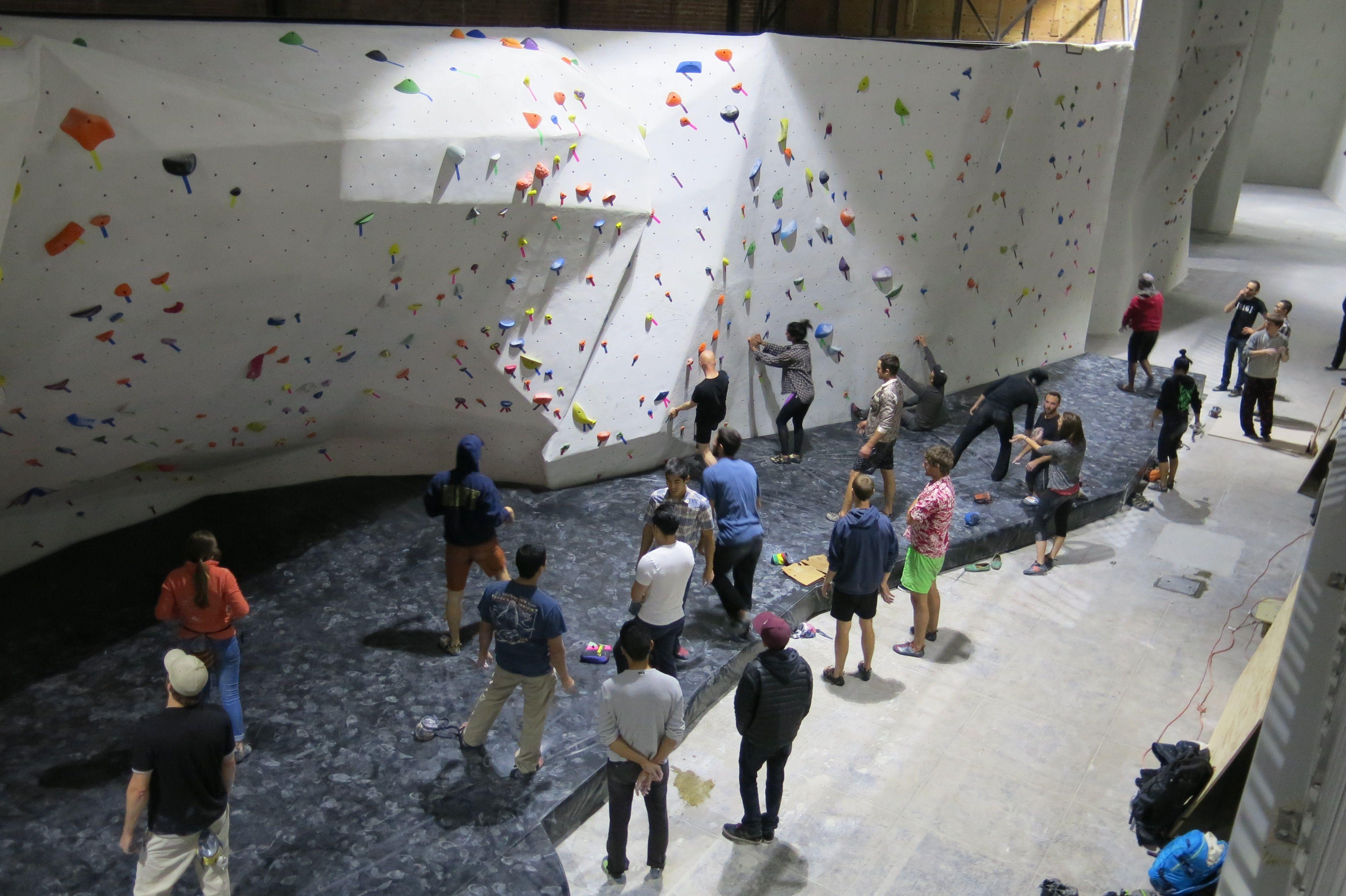 The Stronghold Climbing Gym Photos Climbing Gym Rock Climbing Gym Indoor Climbing