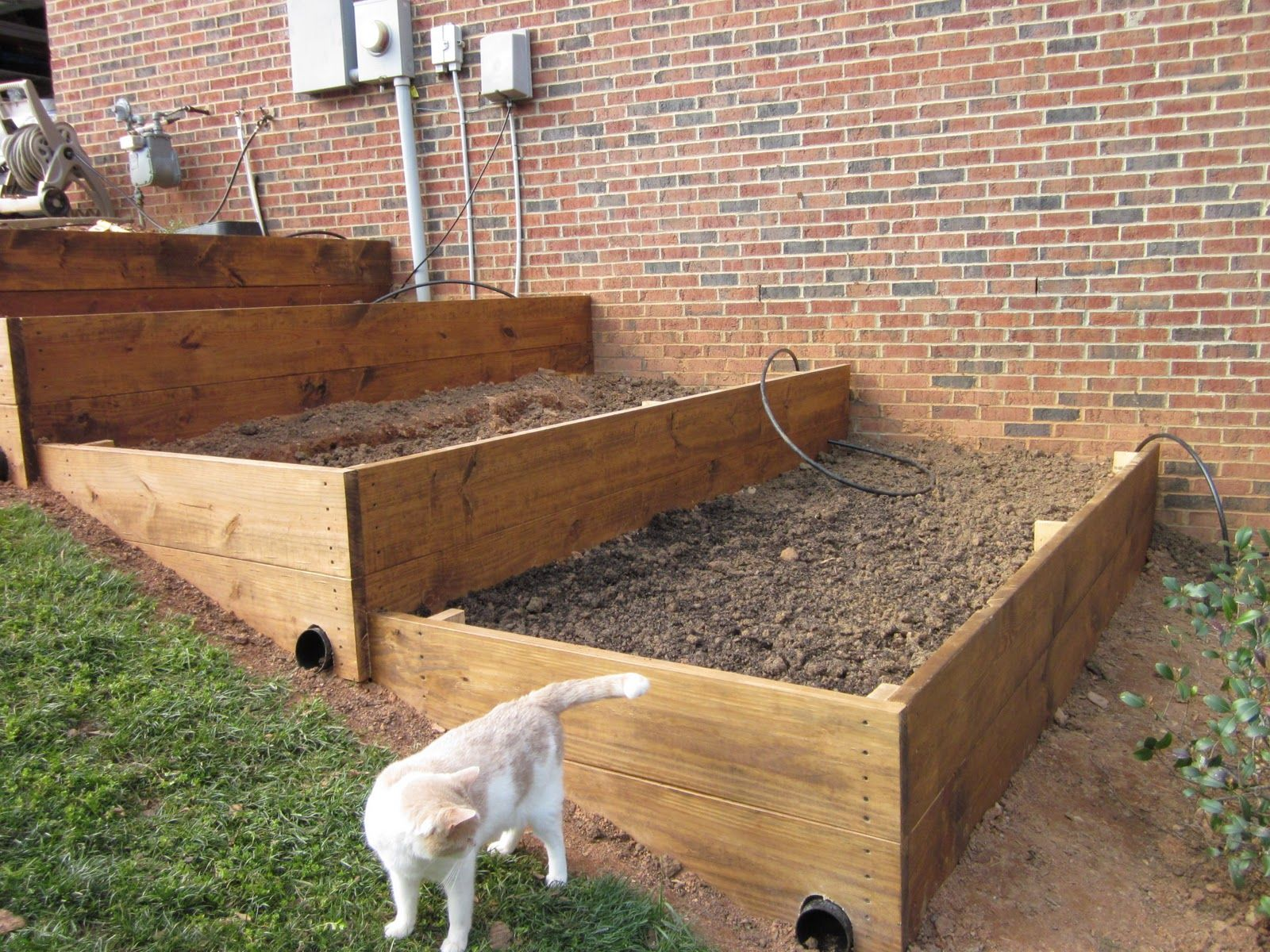 raised beds on slope - Google Search | gardening | Pinterest ...