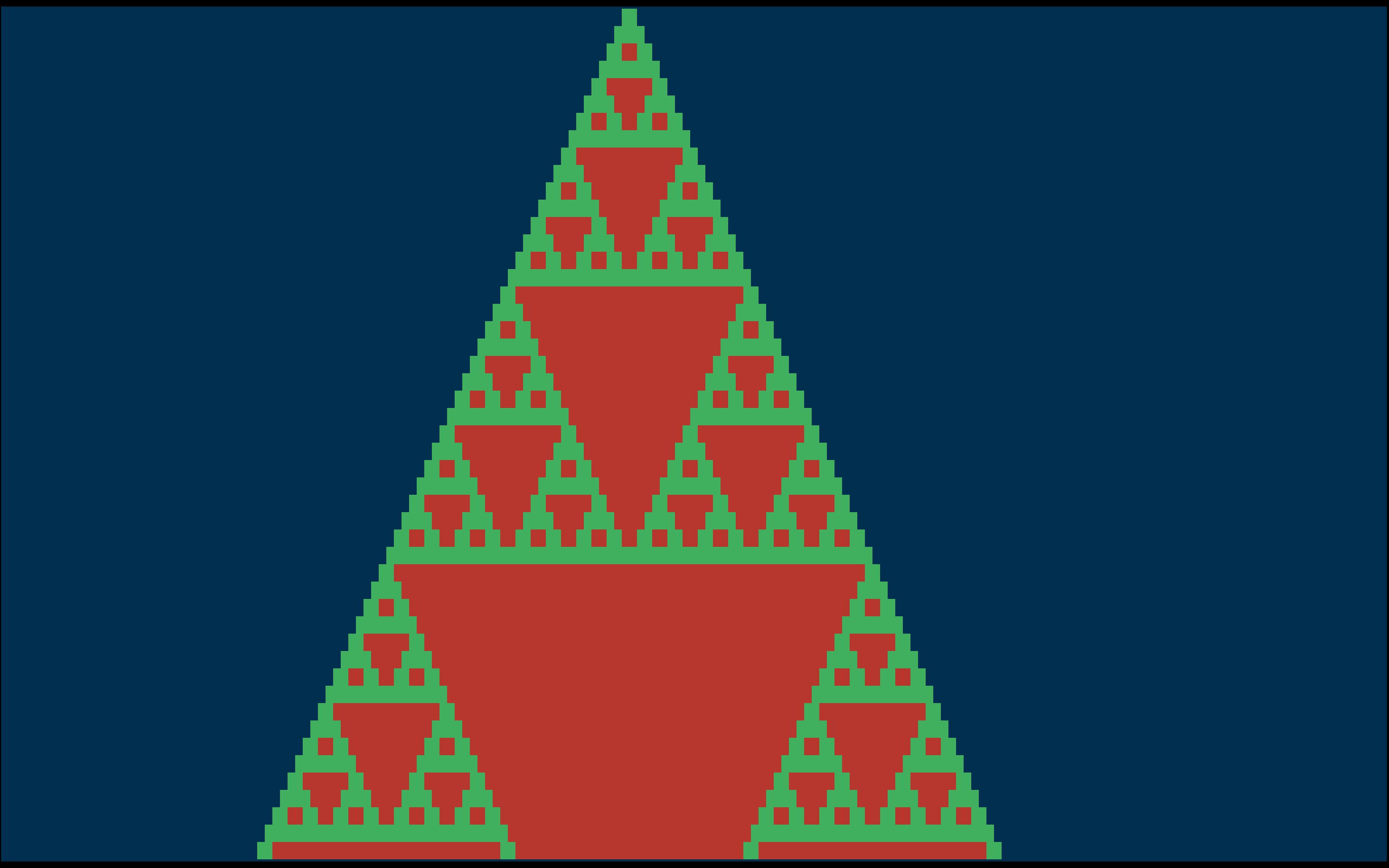 Pascal S Triangle Modulo 2