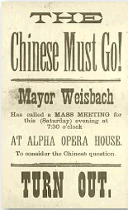 Image result for anti chinese posters in california
