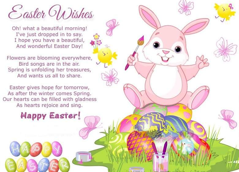 Easter Poems, Happy Easter