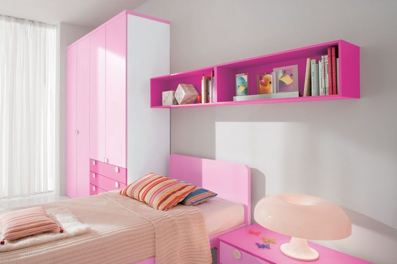 Cool Pink S Bedroom Designs From Doimo City Line Kidsomania