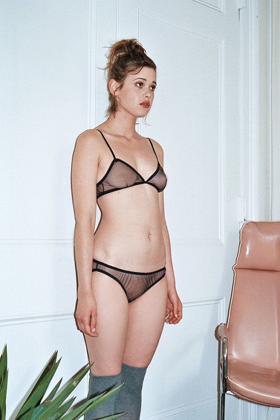 Luna See through navy set by MissCroftonUnderwear on Etsy f2d965f858f13