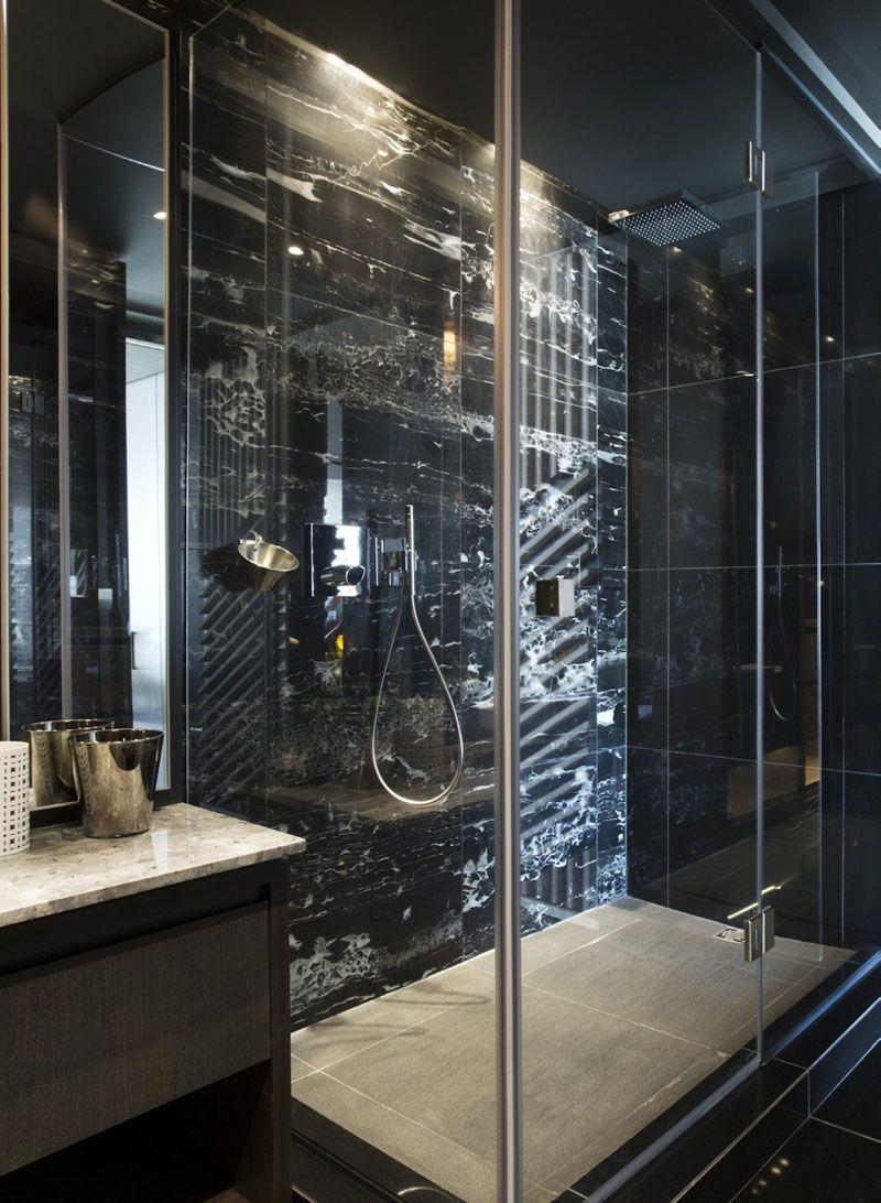 Bathroom Design Idea 5 Ways To Add Marble To Your Bathroom Black Marble Bathroom Marble Bathroom Designs Gold Bathroom Decor