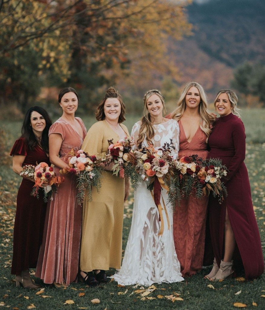 These are the Fall Wedding Colors We're LOVING Right Now ...