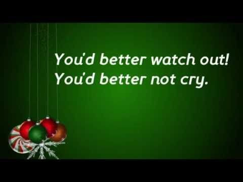 Santa Claus Is Coming To Town Lyrics Children Version Youtube Santa Claus Is Coming To Town Christmas Love Songs Country Christmas Music