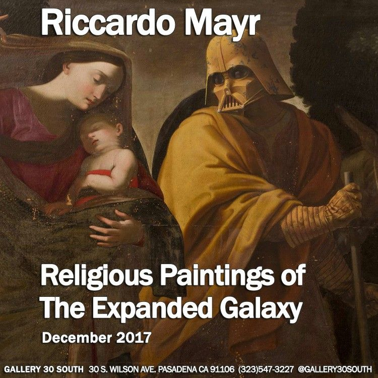 Cool Riccardo Mayr s Religious Paintings of the Expanded Galaxy is a 17th Century Star Wars Mash Simple Elegant - Inspirational religious paintings Modern