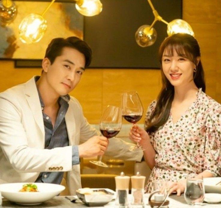 드라마)저녁 같이 드실래요?멋 송승헌+ 쁨 서지혜 (ft.서드리헵번+베르니스 플라워 랩원피스) : 네이버 블로그