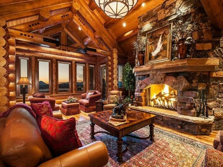 Living Room for my Cabin Home Decorating Pinterest