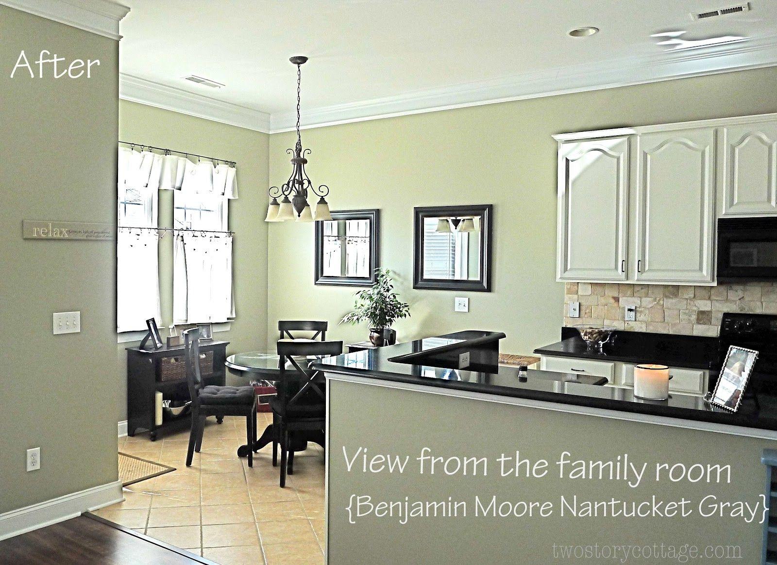 Nantucket Grey Kitchen Cabinets Kitchen Transformation Grey Kitchen Cabinets White Kitchen