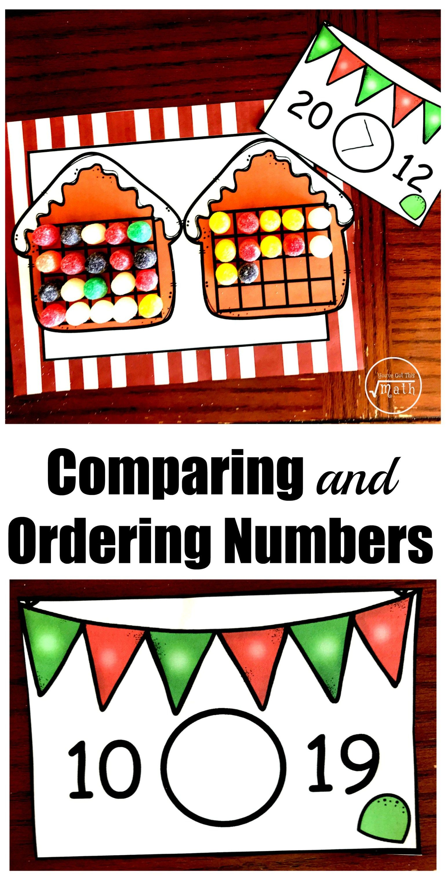 Practice Comparing And Ordering Numbers With This