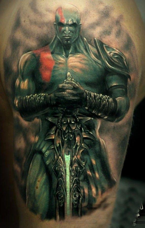 Pin By Tattoomaze On God Of War Tattoo Ideas Armor Of God