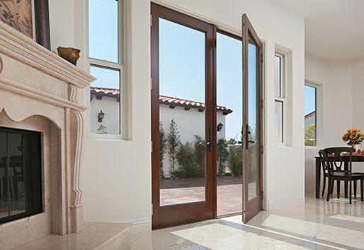 hinged patio doors andersen doors and more pinterest