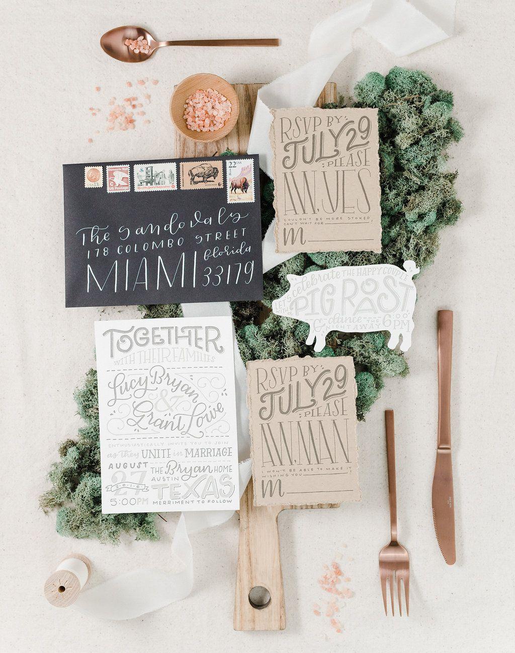 Portfolio Paper Honey Custom Wedding Invitations Stationery