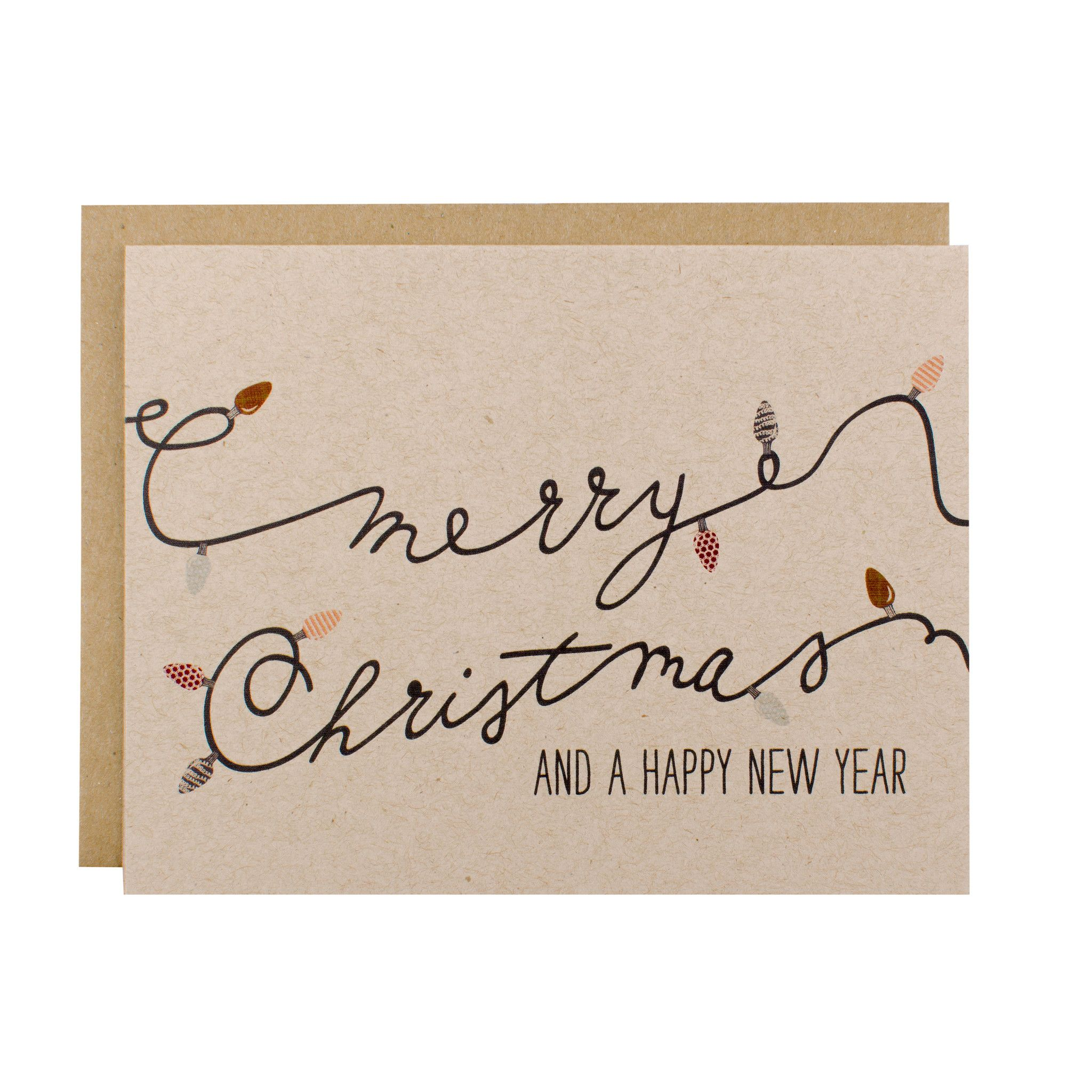 christmas cards christmas card set merry christmas a happy new year card pack