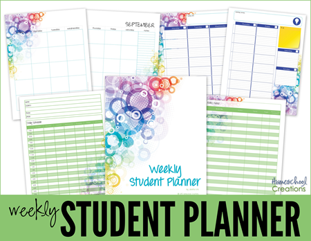 Student Planner Ultimate Homeschool Board Pinterest Student