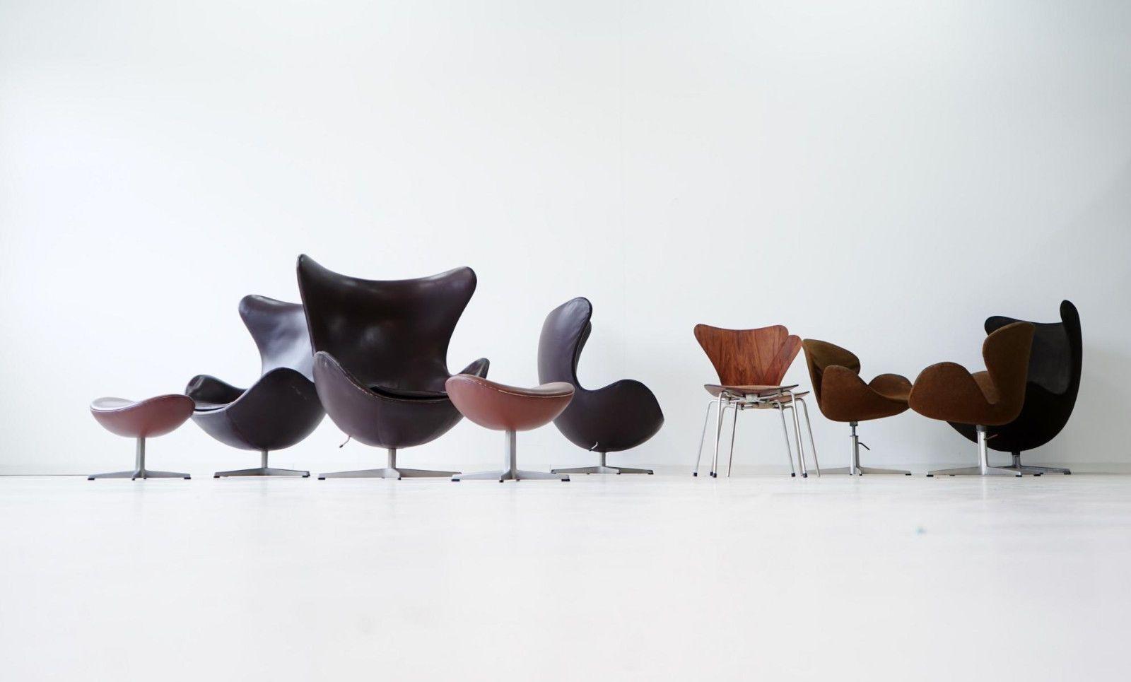Designgut Arne Jacobsen Chair Swan Schwan Fritz Hansen Lounge 3107