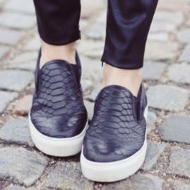 In love with slip on sneakers