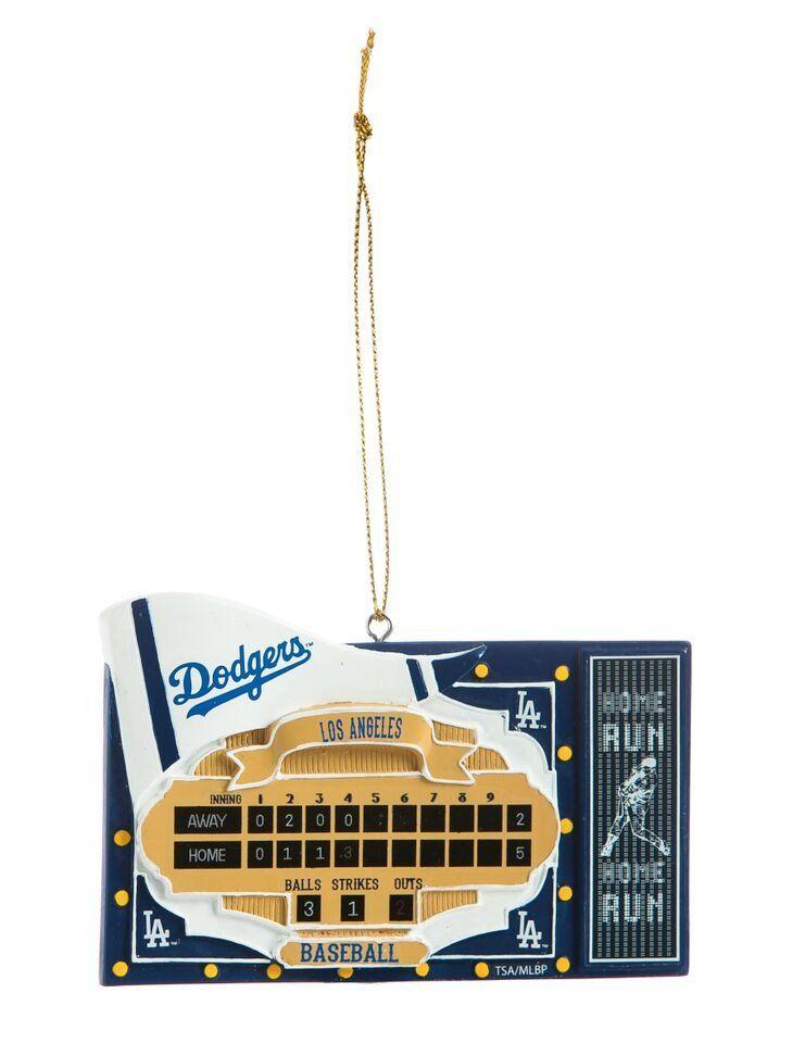 Los Angeles Dodgers Scoreboard Ornament