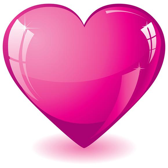 Hot Pink Heart Heart wallpaper, Heart images, Heart