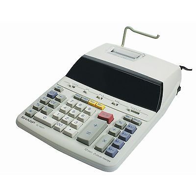 Sharp #el-1607p #electric printing calculator fluorescent display 12-digit #el160,  View more on the LINK: http://www.zeppy.io/product/gb/2/182121267517/
