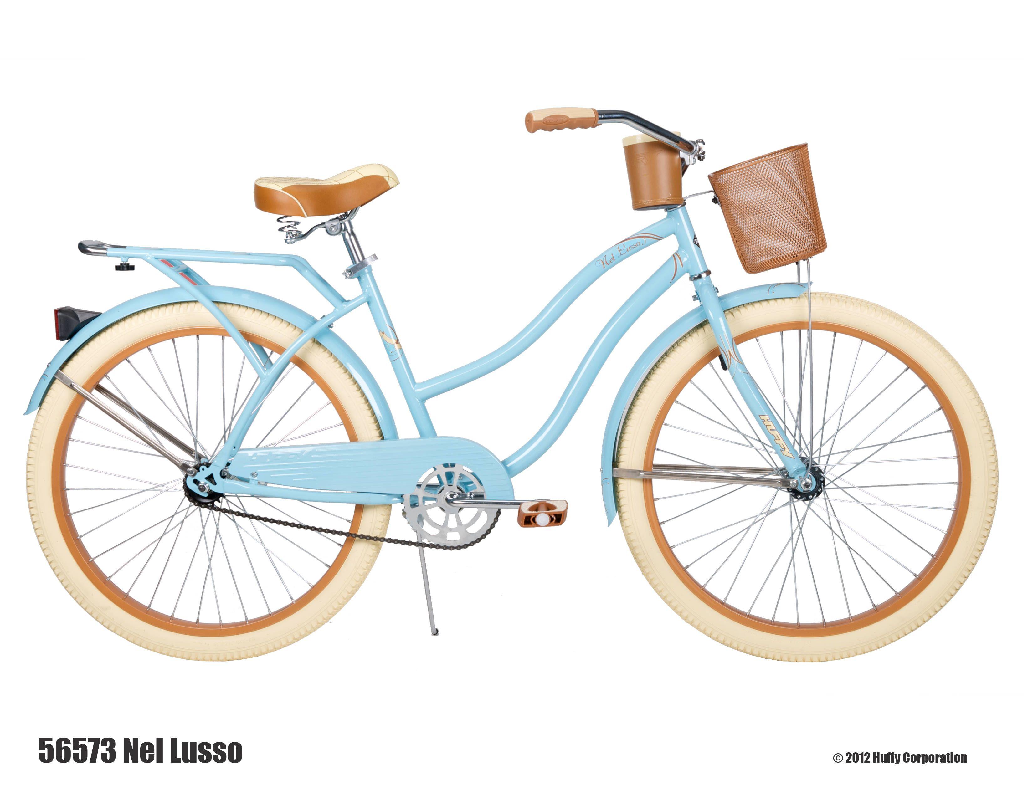 Huffy 26 Womens Nel Lusso Cruiser Bike With Perfect Fit Frame Blue Walmart Com In 2020 Beach Cruiser Bikes Cruiser Bike Cruiser Bicycle