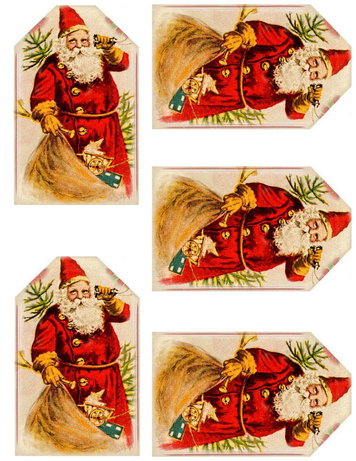 Luxe Image De Noel Vintage A Imprimer