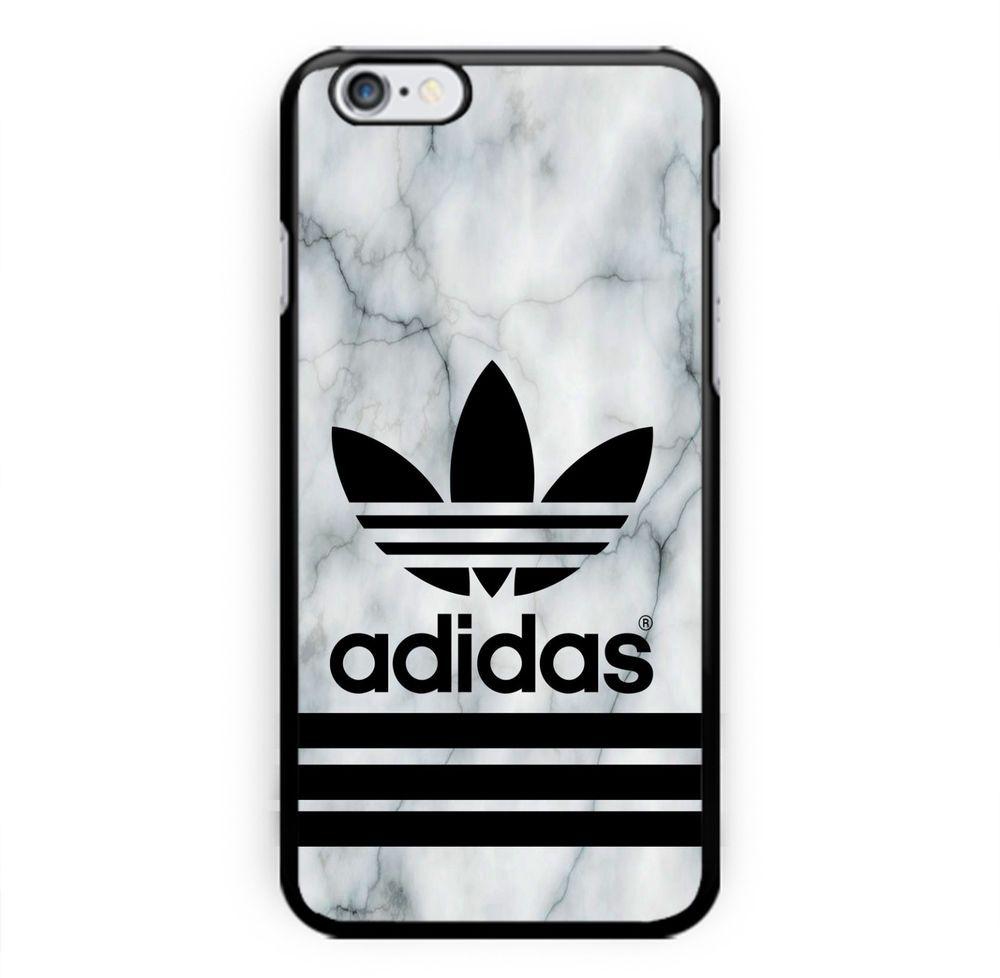 Best New Custom Adidas Logo White Marble Print On Hard Case For Iphone 6s Unbrandedgeneric Iphone Cell Phone Cases Hard Cover Phone Cases Iphone Phone Cases