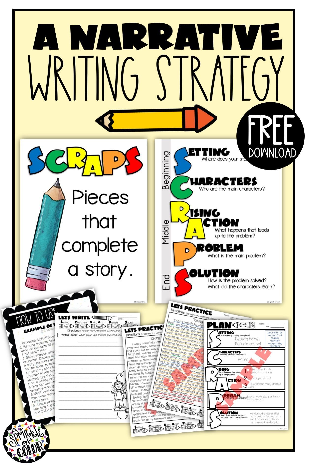 teaching narrative writing 5th grade