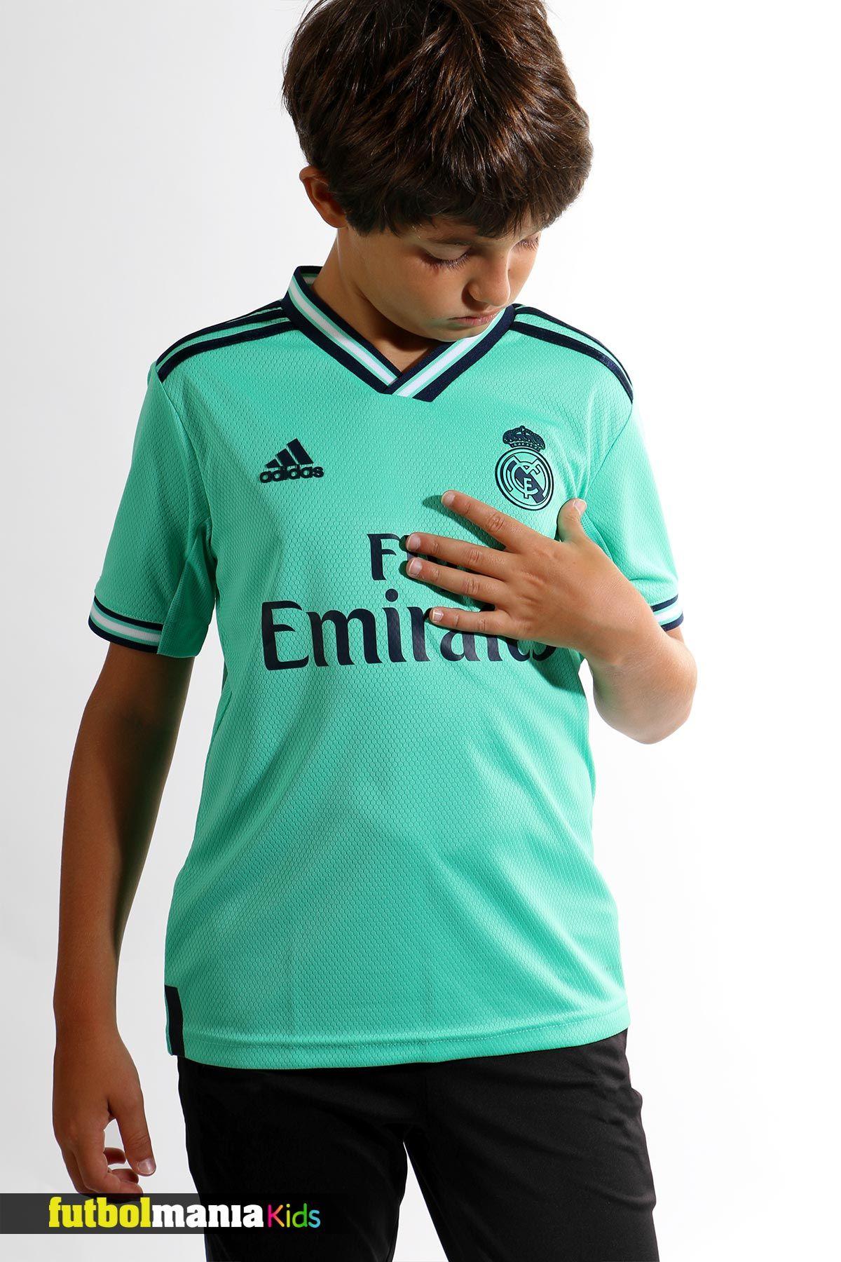 Camiseta adidas 3a R Madrid niño 2019 2020   Camisetas