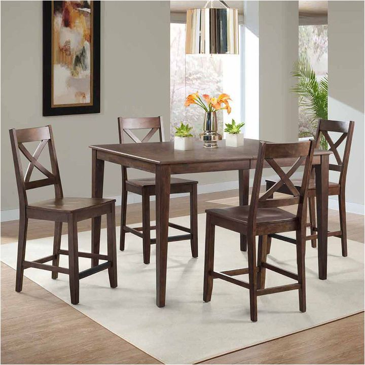 New Bar Height Dining Set with Bench