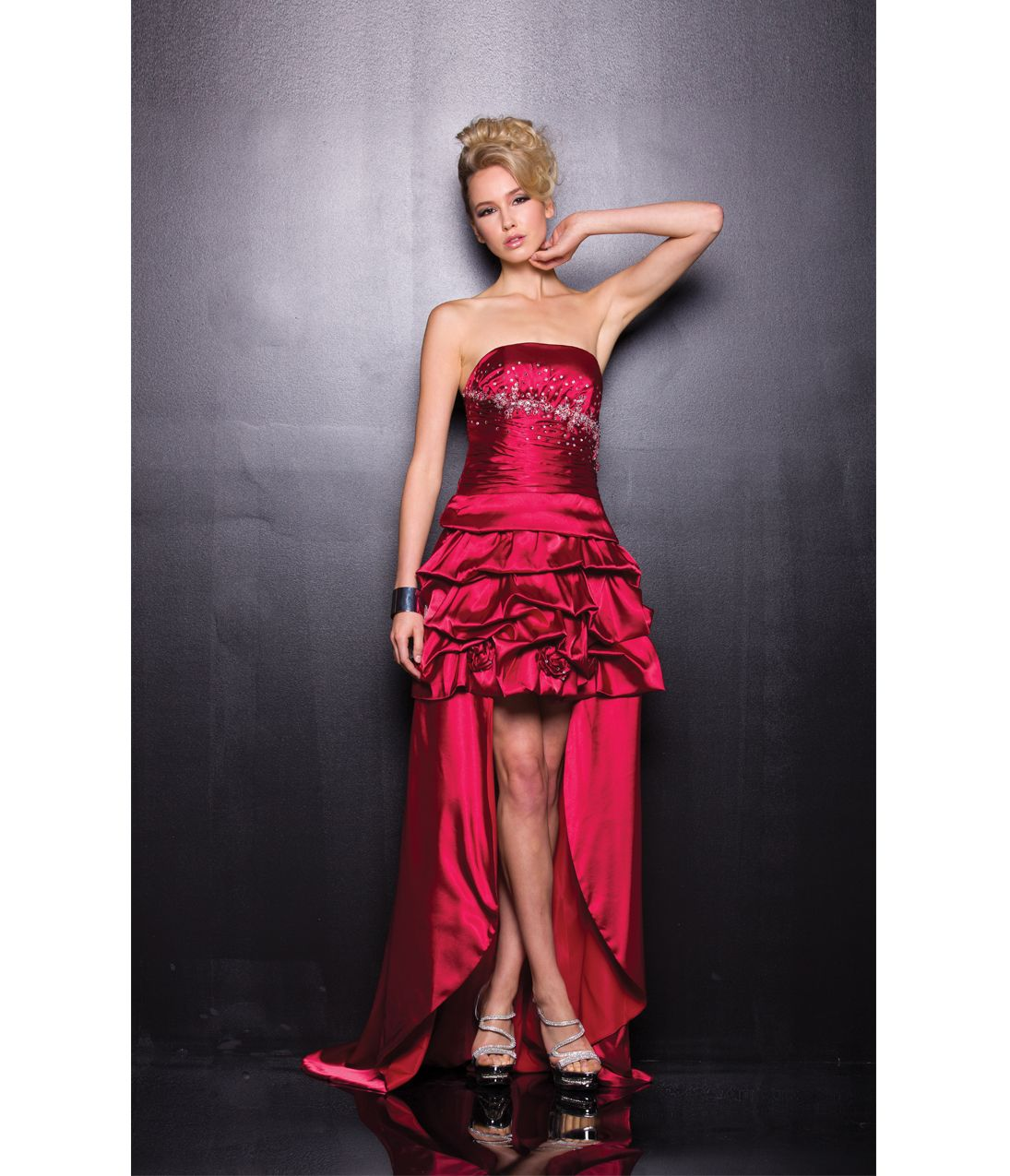 Unique vintage long prom dresses prom and ruffles