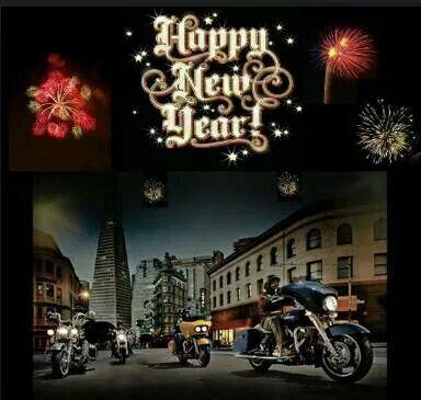 Happy New Year Harley Davidson New Year Wallpaper