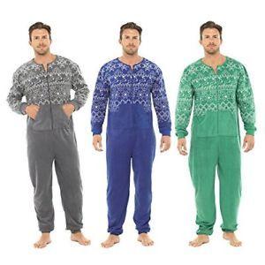 fairisle impresos polar micro ml uno a hombre pijamas gris en todo para nuevo enterito gw4qxFpB