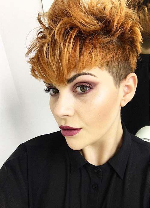 50 Luxury Messy Short Hairstyles