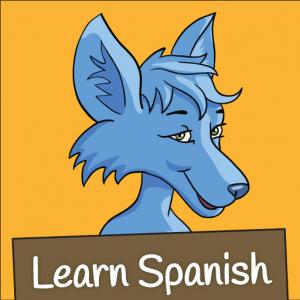 Learn Spanish: The Little Blue Jackal iPad App
