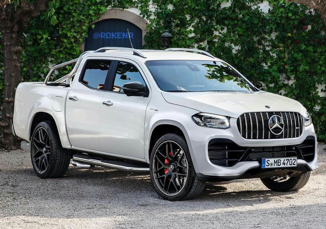 Mercedes Benz X Class Amg Is Coming Sooner Than Expected Cars