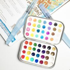 Diy Travel Watercolour Kit Aquash Watercolour Watercolor Kit