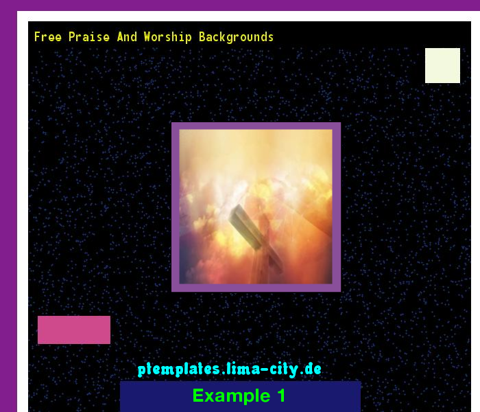 Free Praise And Worship Backgrounds Powerpoint Templates 134443
