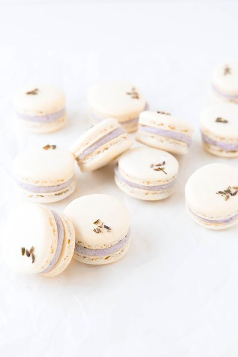 Lavender Coconut Macarons Broma Bakery Recipe Macaron Flavors Macaron Recipe Macaroons Flavors