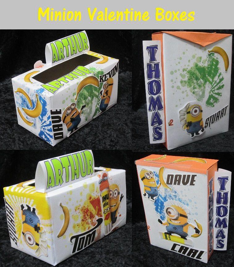 Inspirational Minion Valentines Box