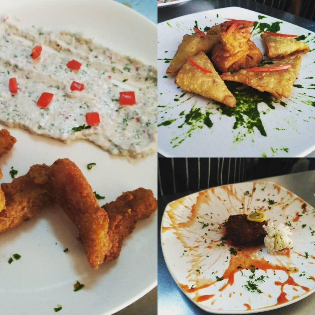 #FingerFoodMenu#FishFingers#ChickenSamosa#ShrimpCake#
