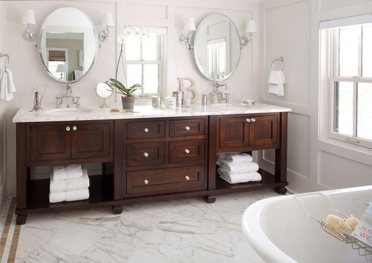 Meuble salle de bain double vasque Bath, Bath ideas and Modern