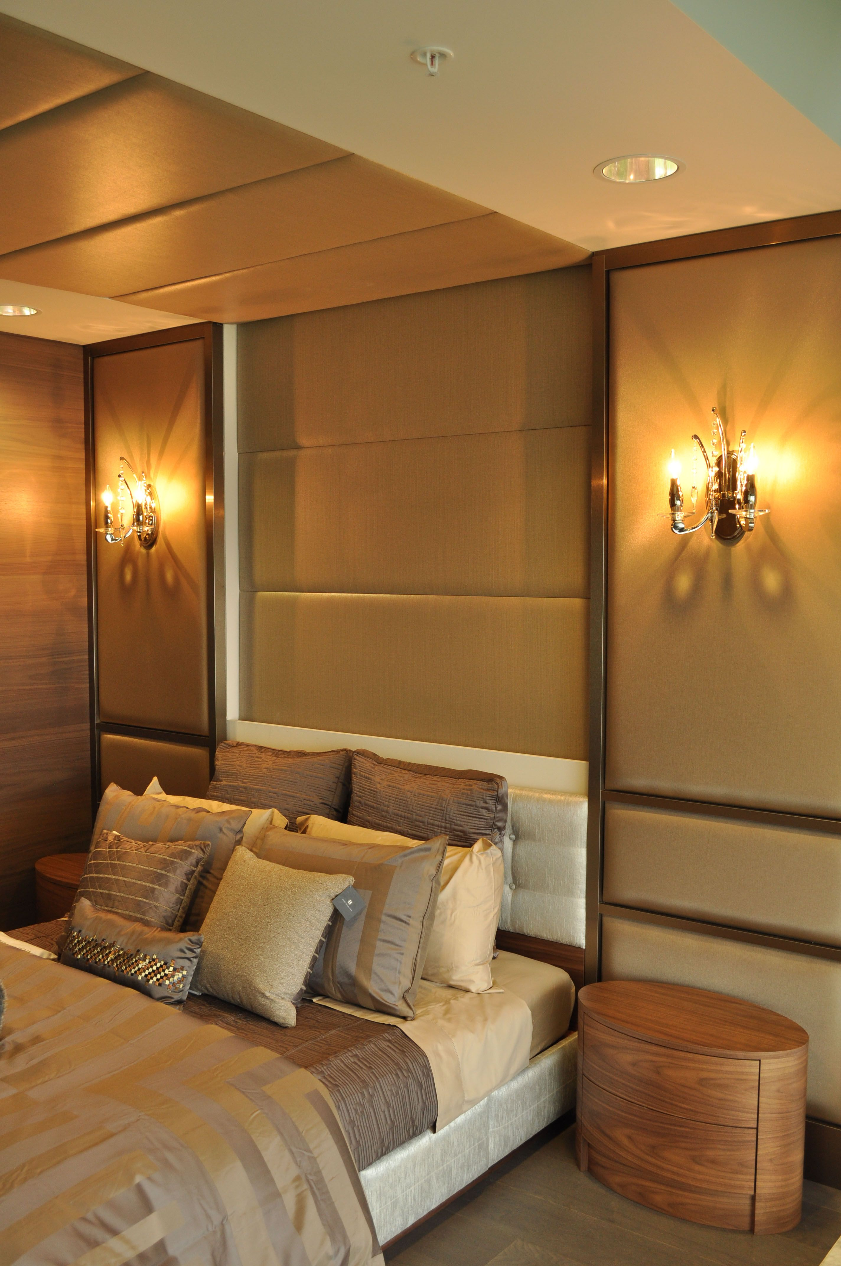 upholstered wall panels  headboard custom furniture www