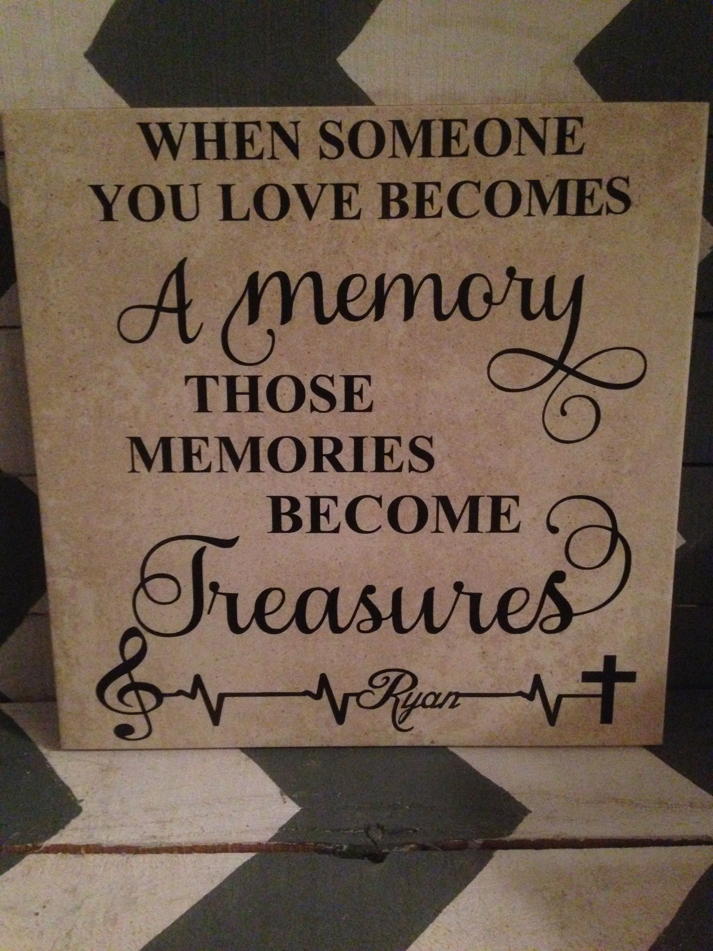 Download When someone you love becomes a memory, those memories ...